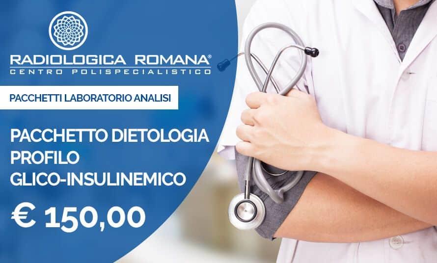 Pacchetto Dietologia Profilo Glico-Insulemico